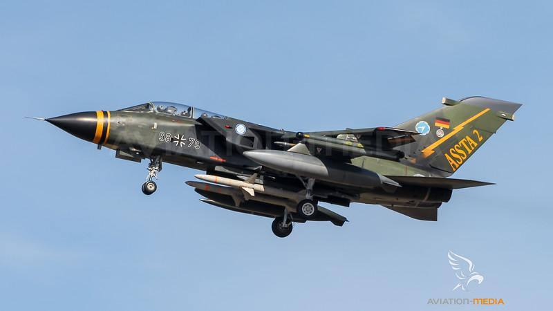 German Air Force WTD-61 / PANAVIA Tornado ECR / 98+79 / ASSTA 2 Livery