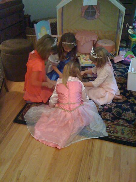 Lydia's fairy princess party