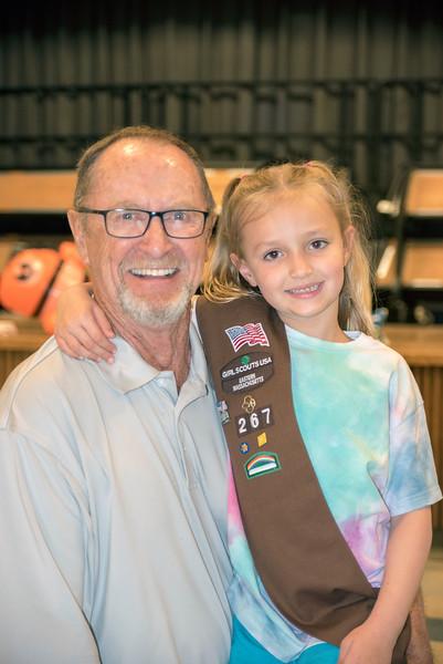 Sara and Grampy