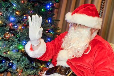 Santa Visits Wofford Kids