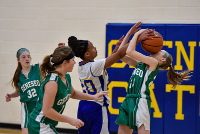 02/27 - Glenview 7th Girls Basketball vs Geneseo