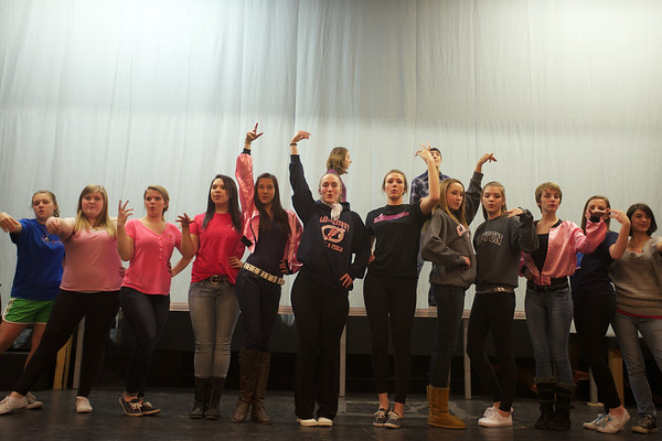 PHOTO GALLERY: Londonderry High rehearsal of Grease