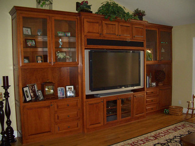 Entertainment Centers and Hutches and Buffets