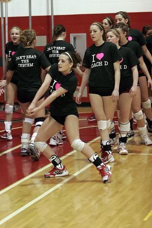 Girls Varsity Volleyball - 2006-2007 - 3/3/2007 Districts Belding