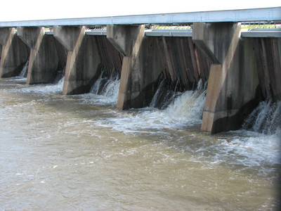 Bonnet-Caire Spillway - April 13 2008