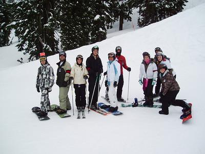 Bend Ski Trip 2009