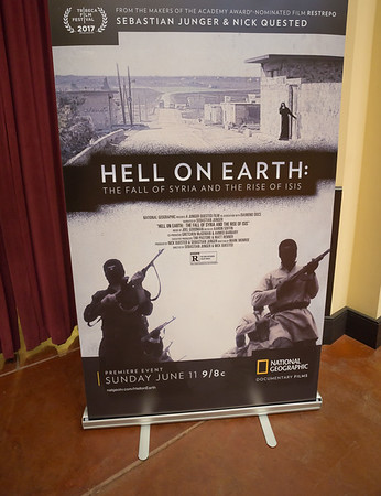 "Screening of "" Hell on Earth """