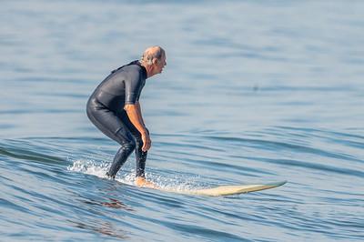 Ralph Lombardo Surfing Long Beach 10-8-21