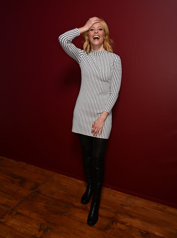 . Actress Elizabeth Banks poses for a portrait during the 2014 Sundance Film Festival at the Getty Images Portrait Studio at the Village At The Lift on January 21, 2014 in Park City, Utah.  (Photo by Larry Busacca/Getty Images)