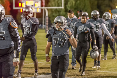 2015-11-13 BHS Football VS Providence (NCHSAA 4-AA Playoffs, 1st Round)