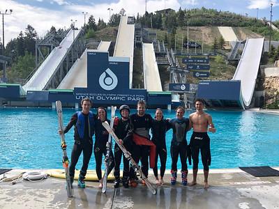 2019 Moguls Water Ramp Training - UOP