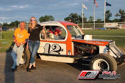 Fonda Speedway- Jann McGaffin-7/4/21