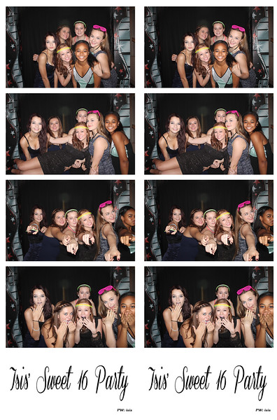 Isis' Sweet 16 Party October 4, 2014