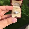 2.23ct Old European Cut Diamond Edwardian Solitaire GIA I VS1 23