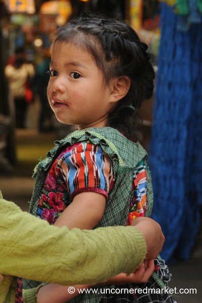 Cute Little Guatemalan Girl - Xela, Guatemala