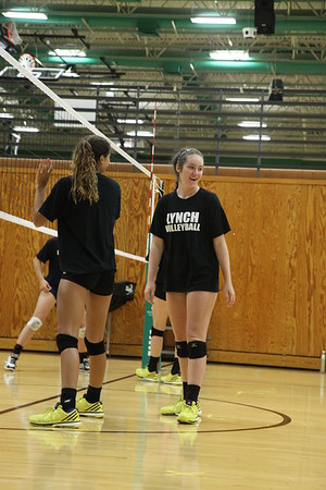 BL Varsity Volleyball @Southlake Scrimmages  (08/07/2015)