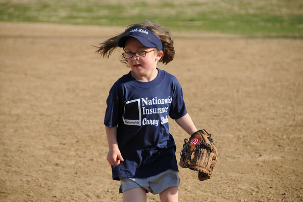 Ryleigh's First Softball Game May 5