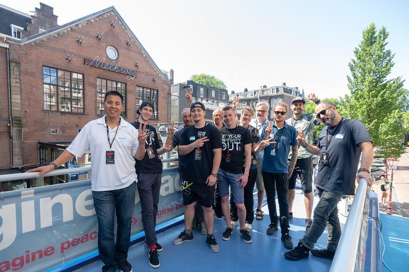 2018_06_29, Amsterdam, Come Together Amsterdam, Dave Clarke, Melkweg, NL, Peace Deck, Brian Vincik