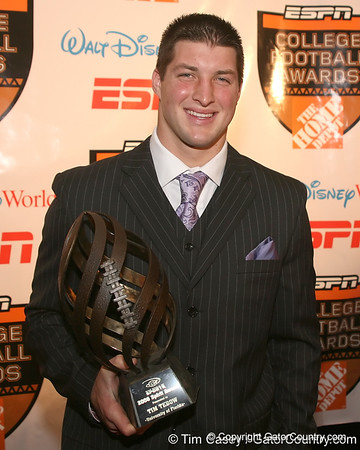 Tim Tebow on the awards circuit