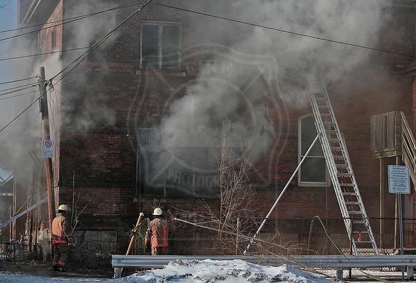 Hamilton, ON - January 21, 2014 - Multiple Alarm - 200 Sanford Ave N