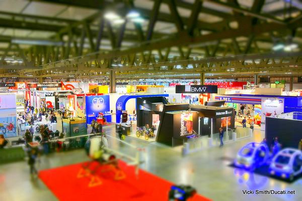 EICMA Motorcycle Show 2014, Milan Italy