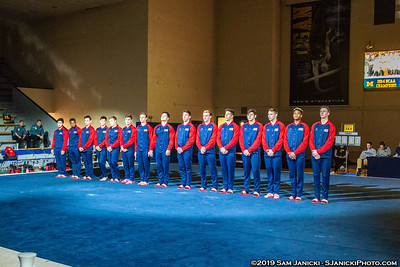 Pre+Post Meet - UM Men's Gymnastics Vs UIC 3-30-19
