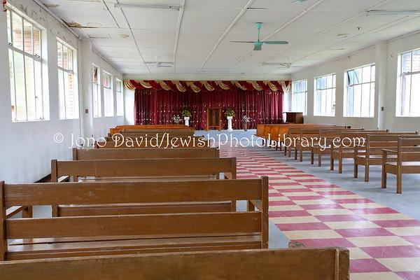 ZAMBIA, Luanshya. Luanshya Synagogue (former) (2.2013)
