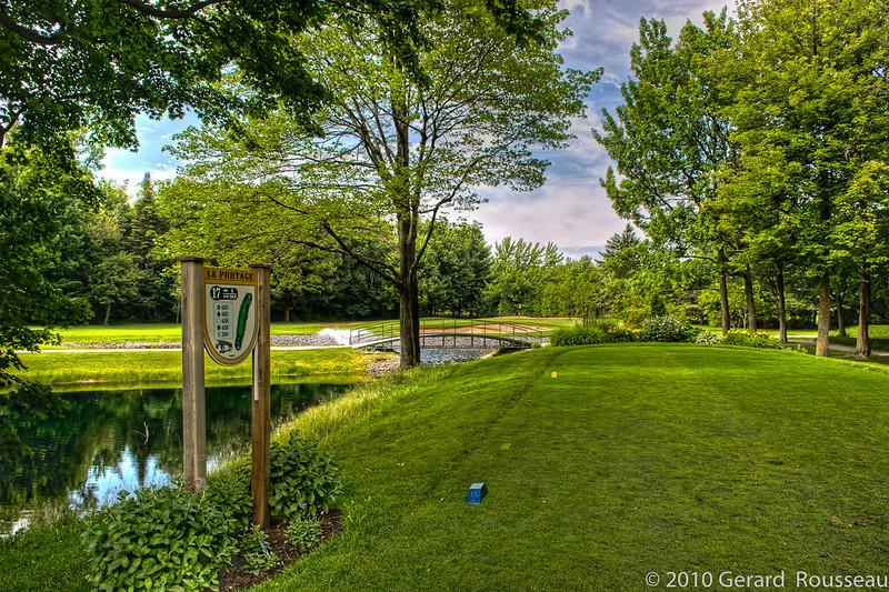 Club de Golf Le Portage ( tee off 17 trou )
