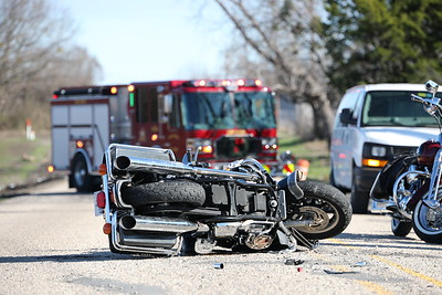 McKinney TX. Motorcycle accident. FM 546. 1/3/21