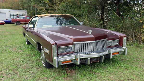November 27, 2020:  1976 Cadillac Eldorado convertible .  .  .