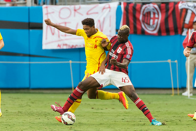 2014 Liverpool vs AC Milan