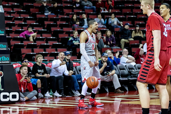 2016 Seattle U Men's Basketball vs Eastern