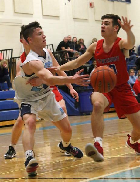 Dracut Tewksbury basketball 020519
