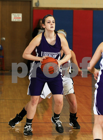 2011 DuBois Central Catholic Girls Basketball vs. Coudersport (St. Marys Tournament)