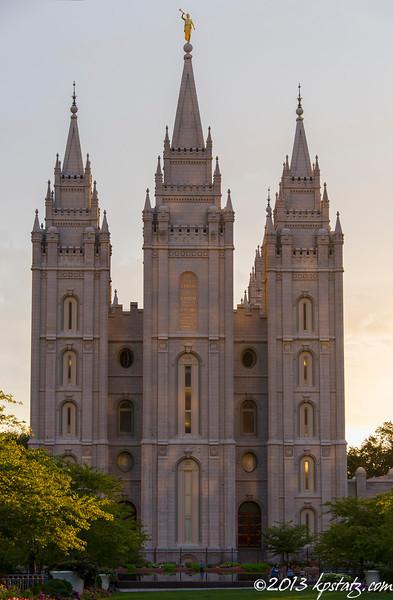 AUG 7 - Laramie, WY > Salt Lake City, UT