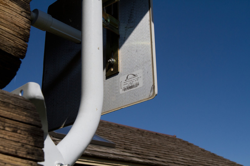 Internet connections are often through fixed-wireless connections.