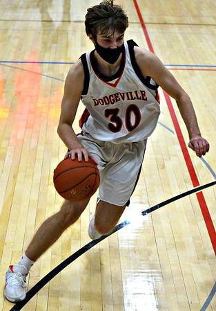 River Valley @ Dodgeville Boys Basketball 2-11-21