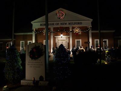 New Milford, NJ - Annual Christmas Tree Lighting 2008
