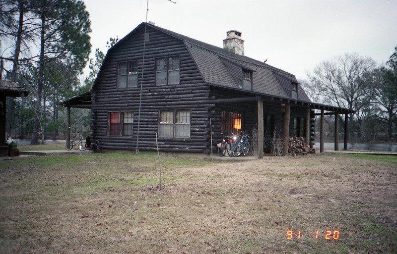 Log Cabin In The Country