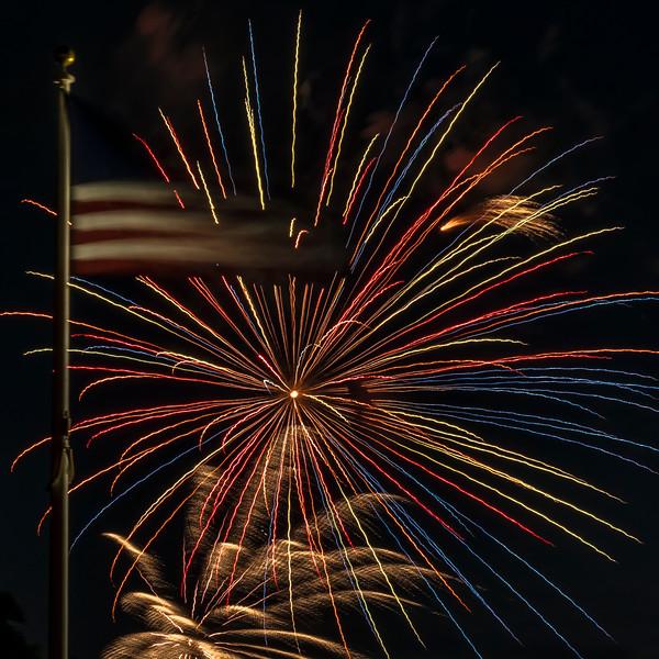 Fireworks Oakley 2019
