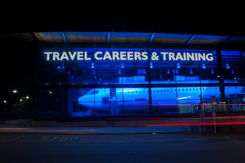 Travel Careers & Training Centre, Auckland Airport, 2014.