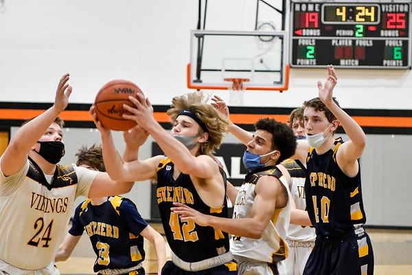 Shepherd vs Tri-County District Basketball 2-25-2021