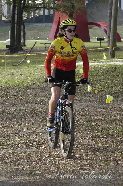 West End  Cyclocross, Stude Park, Houston, January 9, 2005 - Juniors