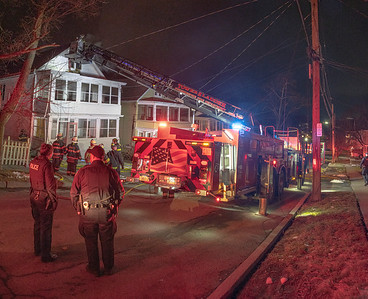 Residential Structure Fire - Roosevelt Ave. - City of Poughkeepsie FD. -01/06/2021