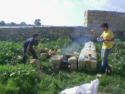 PL Matteo and PL Miguel Fire & Cooking