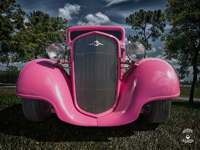 1935 Chevy Sedan Pink