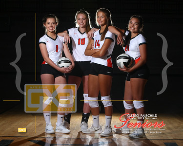 Osseo-Fairchild volleyball seniors VB19
