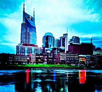 Nashville skyline shots