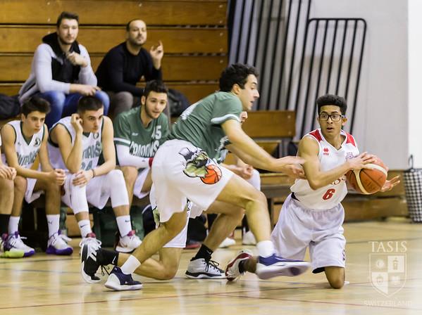 TASIS Boys Basketball vs Viganello U20