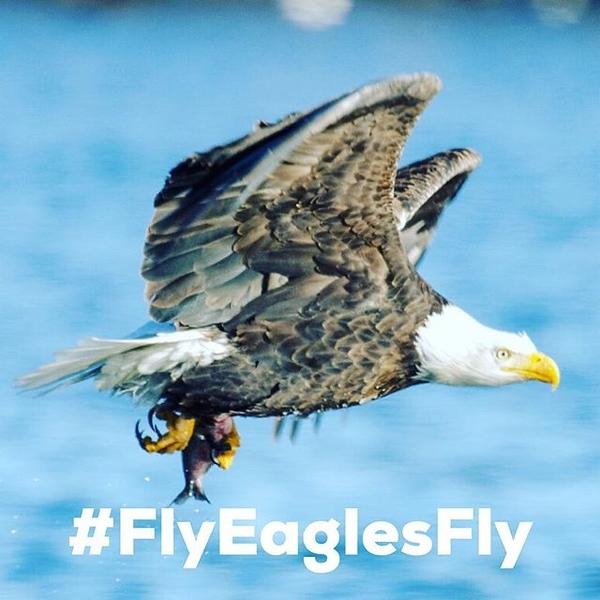 Huzzah Philadelphia! #FlyEaglesFly